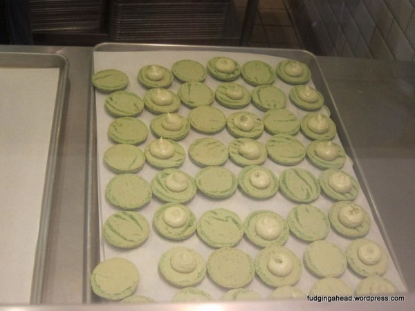 They were making macarons while we were there!