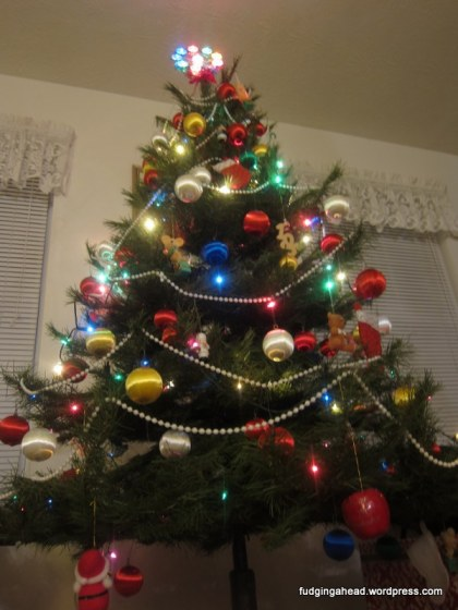 K's family Christmas tree
