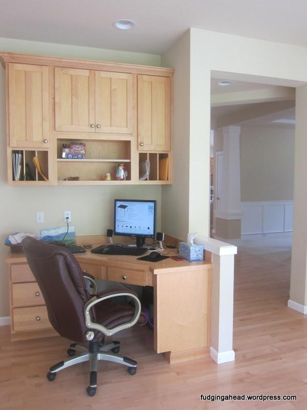K's computer area