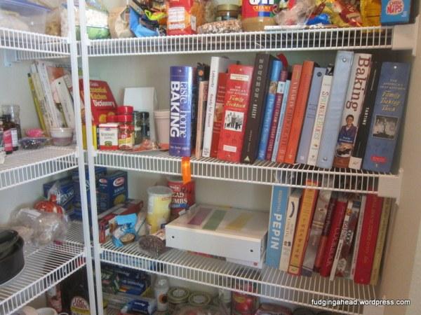 All of my cookbooks