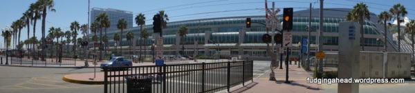 Huge convention center!