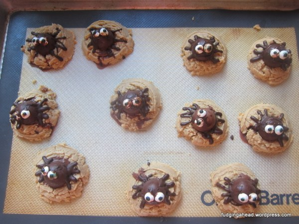Do you see the one with the eyes I put on the wrong way? I had to eat him. (mwahaha)