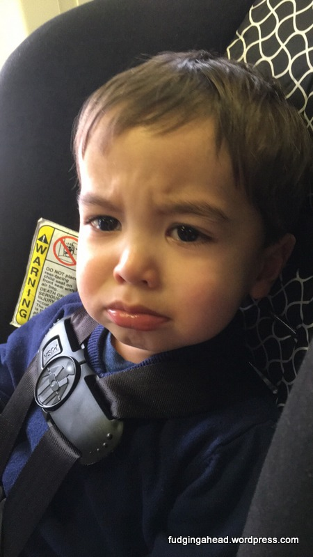 How we all felt when we heard our flight would be 6.5 hours long.