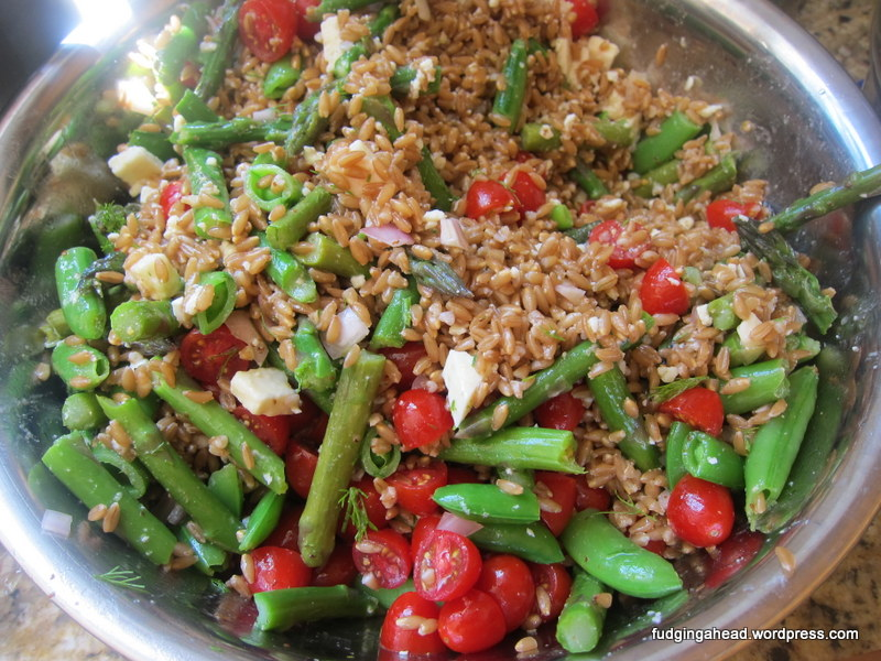 America S Test Kitchen Farro Salad Recipe