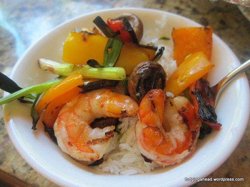 Shrimp And Vegetable Skewers America S Test Kitchen